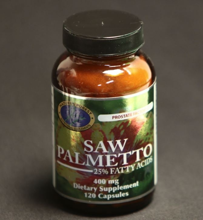 Saw Palmetto; Nat; 400 mg; 120 capsules