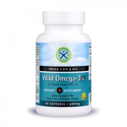Omega-3 Wild Fish Oil ESP; Rejuvenation Science; 600 mg; 90 softgels