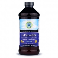 L-Carnitine Liquid; Rejuvenation Science; 1000 mg; 16 fl.oz.
