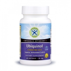 Ubiquinol - CoQ10; Rejuvenation Science; 50 mg; 60 softgels