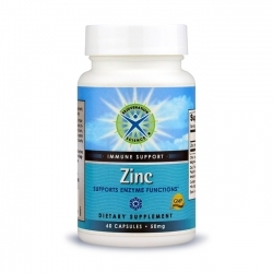 Zinc; Rejuvenation Science; 60 caps; 50 mg