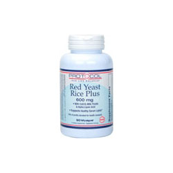 Red Yeast Rice Plus; Protocol; 600 mg; 90 Vcaps